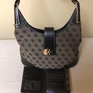 Dooney & Bourke Bags - Dooney and Bourke Hobo womens purse and wallet